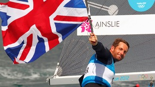 AInslie to carry Team GB flag