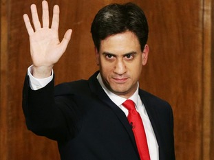 Ed Miliband MP earlier this year