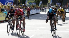 Greipel wins penultimate Tour of Britain stage