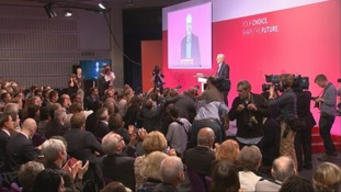 Jeremy Corbyn gives his acceptance speech