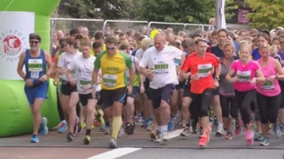 Thousands take part in the 27th Bristol half marathon