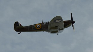 The Spitfire helped to defeat the German air attacks in 1940