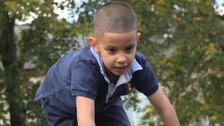 Four year old Amaad Ahmed went missing from his after school club in Nottingham