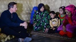 PM urges EU nations to fund refugee camps around Syria