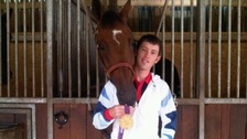 Scott Brash with his horse Hello Sanctos