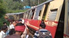 The Galashiels couple survived Indian rail crash