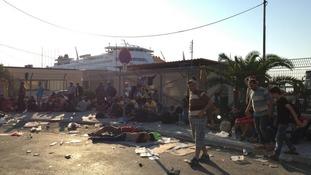 Humanitarian Crisis in Greece 2015