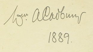 William Cadbury's famous signature became the chocolate brand's logo