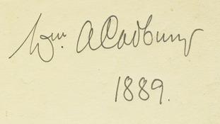 William Cadbury's famous signature became the chocolate brand's logo