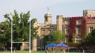 Rugby School in Warwickshire