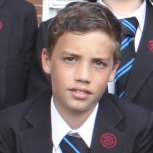 Oliver Croker in a school picture taken last year