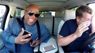 James Corden in tears as he and Stevie Wonder sing the soul legend's best hits and crack jokes in Carpool Karaoke sketch
