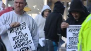 EDL protest facebook Dewsbury