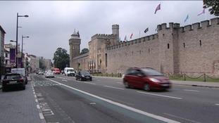 Traffic in Cardiff