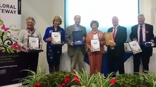 The Floral Gateway Awards ceremony.