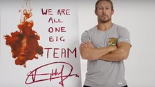 Stars like Jonny Wilkinson have backed the campaign.