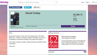 Over £4,000 raised in memory of Great North Runner