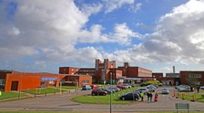 Furness General Hospital.