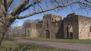 Curwen Hall, also known as Workington Hall.