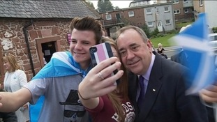 Alex Salmond spearheaded the YES campaign.