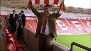 Blackpool FC's president Valeri Belokon.
