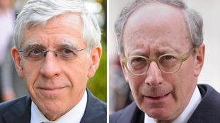 Jack Straw (left) and Sir Malcolm Rifkind