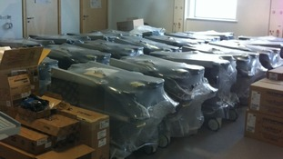 Community hospital equipment packaged