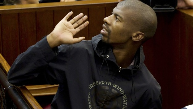 Xolile Mngeni, charged with the murder of Anni Dewani