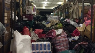 "Syria Relief Depot in Manchester appeals for volunteers to help sort ""overwhelming"" amount of aid for refugee crisis"