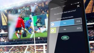 ITV Rugby World Cup app