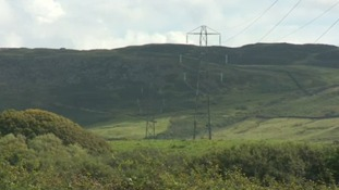 The pylons would be bigger than these.
