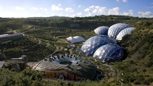 The Eden Project has attracted world-wide attention