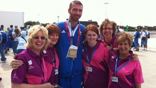 Nikolaidis Alexandros, Greek taekwondo and flag bearer thanks Gamesmakers