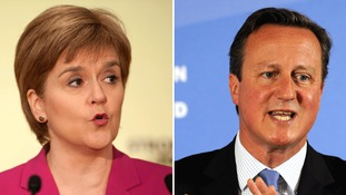 Sturgeon accuses Cameron of failing to deliver on Scotland promises