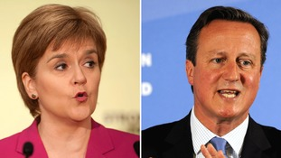 Nicola Sturgeon has said Cameron has failed to deliver on his promises for Scotland.