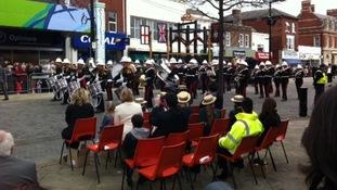 HMS Collingwood band