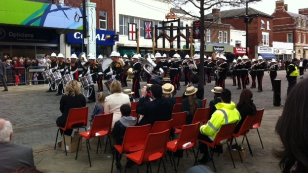 HMS Collingwood band