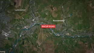 Bacup Road in Rossendale