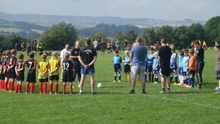 Minute silence held at Exeter Central and Crediton game