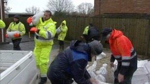 Do it yourself flood bags handed out to flood prone homes