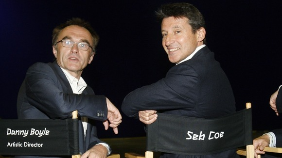 Danny Boyle and Seb Coe