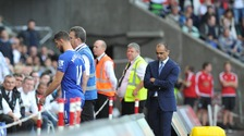 Roberto Martinez and Kevin Mirallas