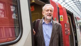 Jeremy Corbyn unveils his plan to renationalise railways