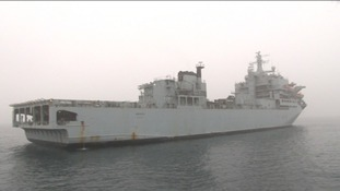 Royal Fleet Auxiliary ship Argus