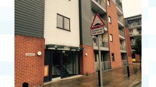 Block of flats in Lincoln where man was stabbed in lift