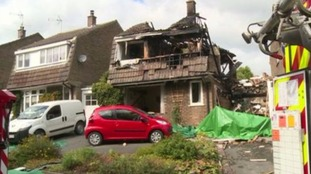 Suspected gas blast house explosion 'treated as suspicious'.