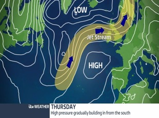 Thursday weather front