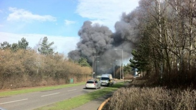 Disruption following factory fire