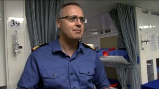 Surgeon Commodore Andrew Hughes