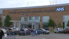 The alleged sex assault happened at the Norfolk and Norwich hospital in September 2014.